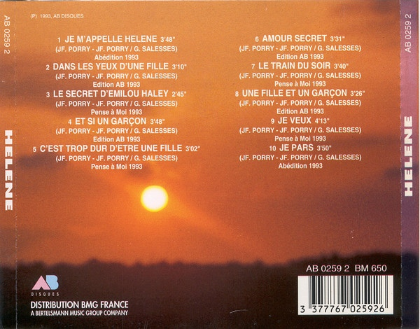 Je m'appelle Hélène (CD)