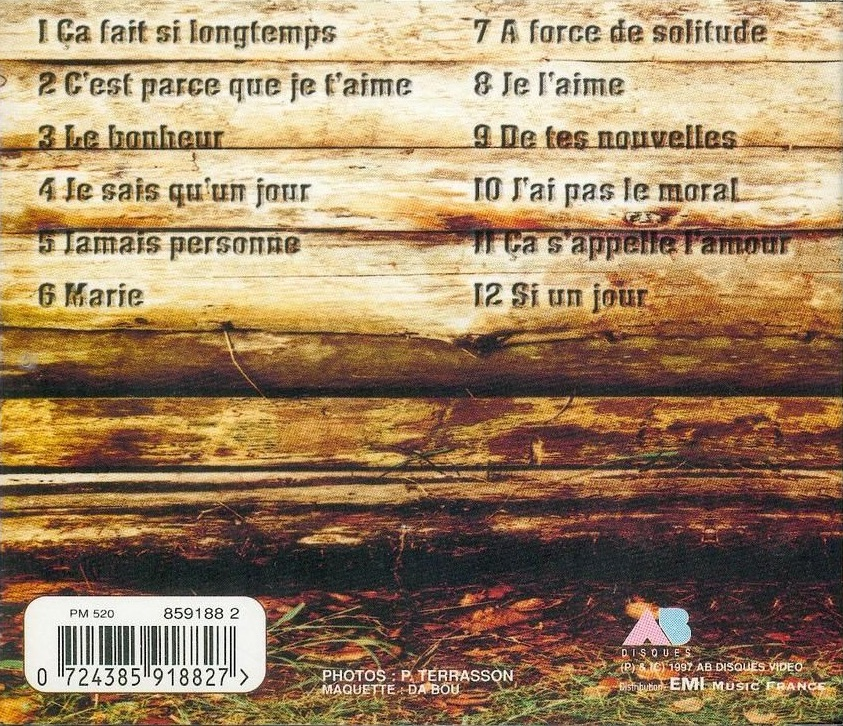 A force de solitude (CD)