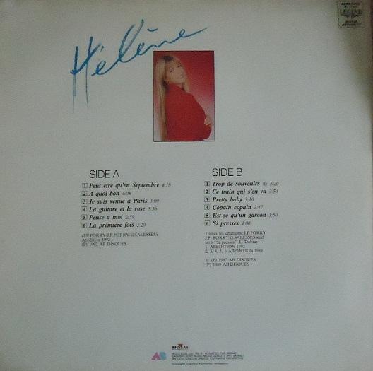 Hélène №2 (пластинка, Греция)