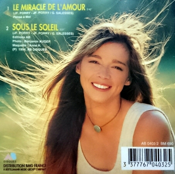 Le miracle de l'amour (CD)