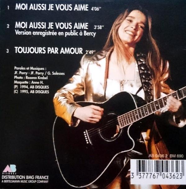 Moi aussi je vous aime (CD)