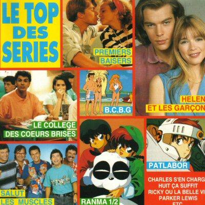 Le top des séries (CD, 1992)