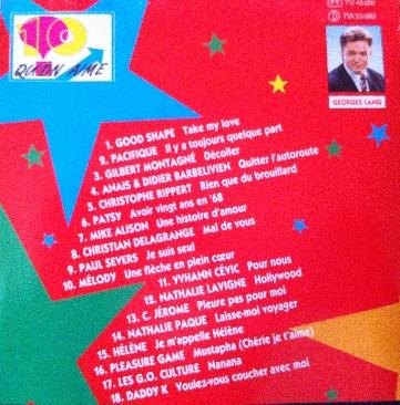 10 qu'on aime (CD, 1993)