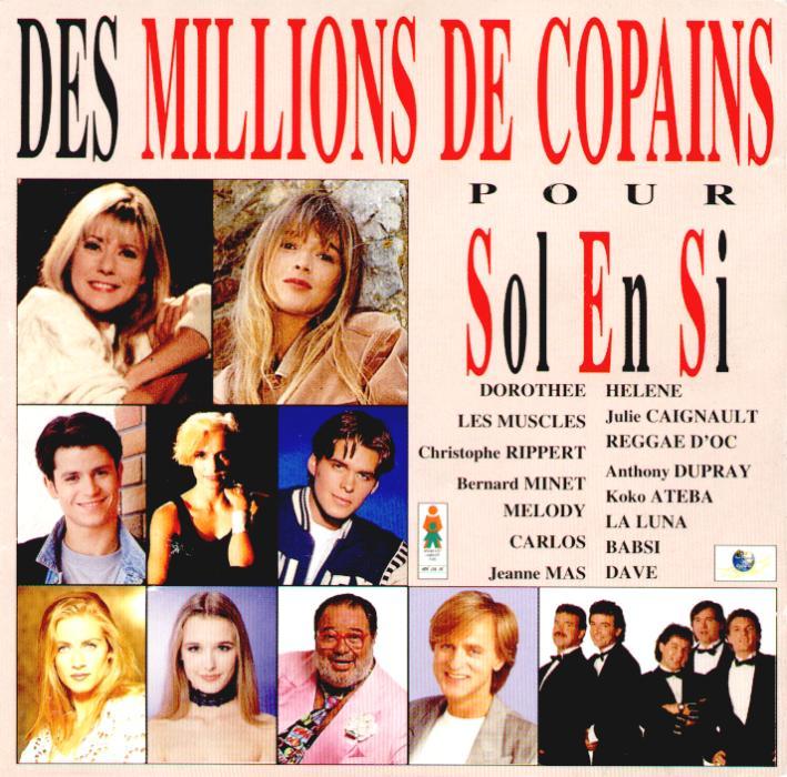 Des millions de copains pour Sol En Si (CD, 1994)