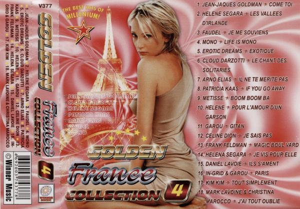 Golden France Collection 4 (пиратская кассета, 2003)