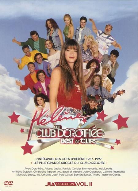 DVD Intégrale des clips d'Hélène + Best of clips des stars du club Dorothée